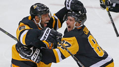 Penguins defence steps up in Letang's absence