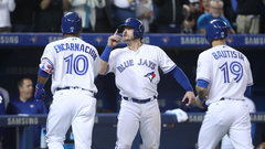 MLB: Rangers 2, Blue Jays 12