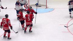 Canada rolls past USA in WHC opener