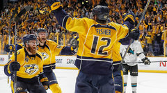 Fisher the triple-OT hero for Nashville