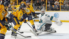 NHL: Sharks 3, Predators 4 (3OT)