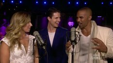 Backstage Lounge with Shemar Moore and Robbie Amell