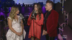 Backstage Lounge with Hailee Steinfeld and Shawn Hook