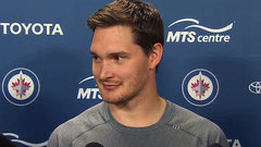 Hutchinson couldn't be happier to stay in Winnipeg