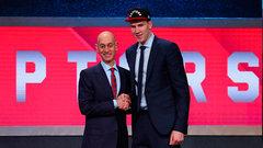 Raptors select Poeltl with ninth pick