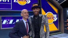 Lakers take Ingram second overall