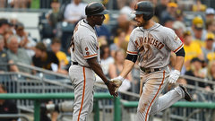 MLB: Giants 5, Pirates 3
