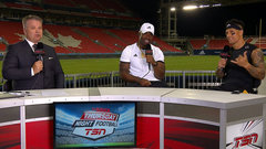 Lawrence, Owens reflect on big win in Toronto