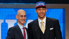 76ers select Simmons first overall