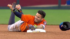 Must See: Altuve loses bid for cycle after hilarious trip