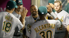 MLB: Athletics 7, Angels 3