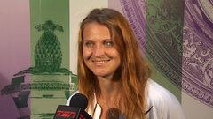 Emotional day as best friends face-off at Wimbledon