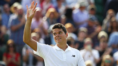 Raonic downs Busta in straight sets