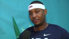 Melo's looking forward to playing with Rose