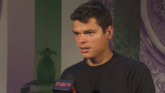 Raonic will look to dictate play against Sock
