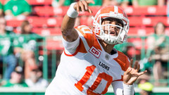 CFL: Lions 40, Roughriders 27