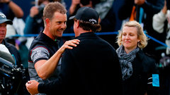 Stenson outduels Mickelson for first major title
