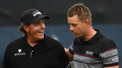 Stenson fends off Mickelson in historical fashion