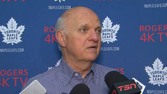 Lamoriello expects Martin to support Leafs' young players