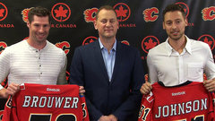 Flames introduce Brouwer and Johnson