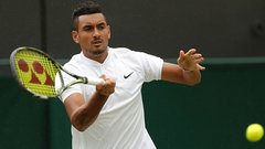 Bad boy Kyrgios at it again