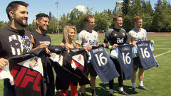 Whitecaps and UFC fighters join forces