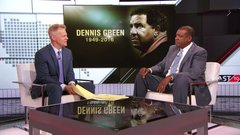 Jarrett Bell's personal connection to Dennis Green
