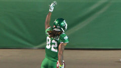 CFL In-Game: Roosevelt goes 88 yards, brings Riders within two