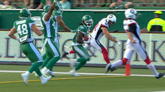 CFL Must See: Campbell scores TD off Foster's blocked punt