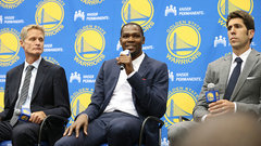 Barkley: Durant doesn't improve Warriors in all areas