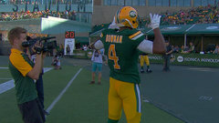 CFL In-Game: Reilly throws third TD of game
