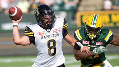 CFL: Tiger-Cats 37, Eskimos 31