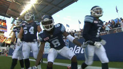 CFL In-Game: Shaw's TD cuts into Montreal lead