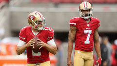 Who's the 49ers starting QB - Kaepernick or Gabbert?