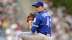 Sanchez making decision difficult for Blue Jays