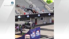 Must See: BMX rider's three outrageous, death-defying tricks