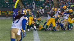 CFL In-Game: McCarty punches it in for the score