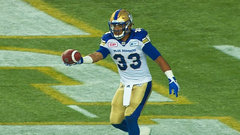 CFL In-Game: Harris gives Bombers early lead with short run
