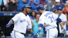 Big bats help Jays set the tone against Orioles