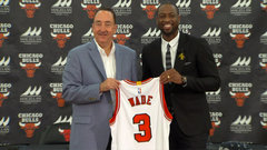 Wade: This moment is a dream come true