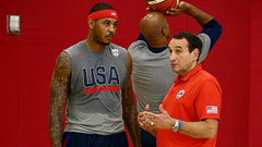 Melo's experience helping develop Team USA