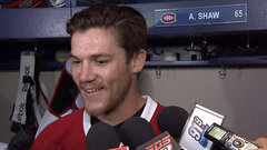 Shaw happy to be teammates with Weber